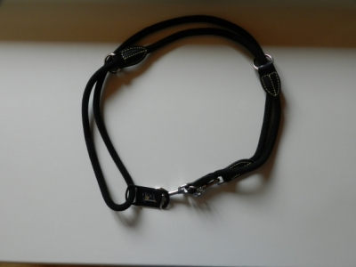 Cotton Deluxe Leine ebenholz - schwarz